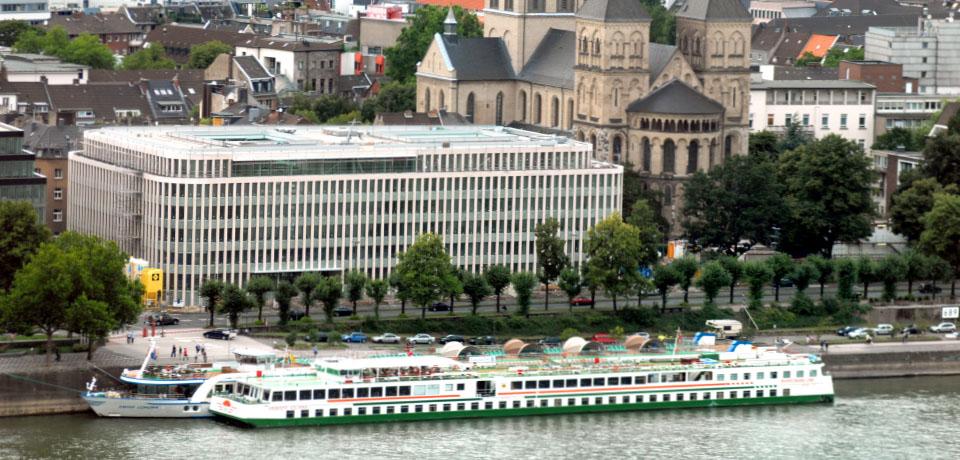 Luftbildaufnahme des IW Köln